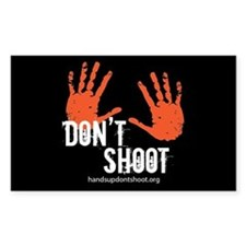 Hands Up Don't Shoot Decal