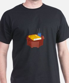 Table Pencil Booklet T-Shirt
