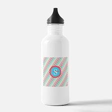 Mod Stripes Personaliz Water Bottle