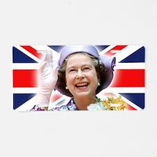 HM Queen Elizabeth II Aluminum License Plate