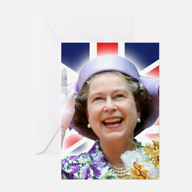 HM Queen Elizabeth II Greeting Cards