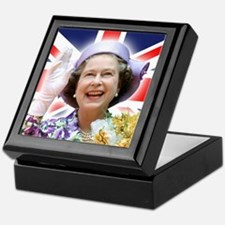 HM Queen Elizabeth II Keepsake Box