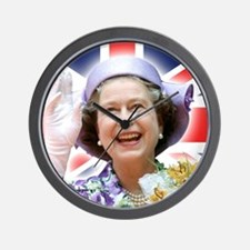 HM Queen Elizabeth II Wall Clock