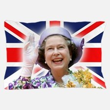 HM Queen Elizabeth II Pillow Case