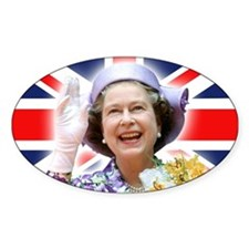 HM Queen Elizabeth II Decal