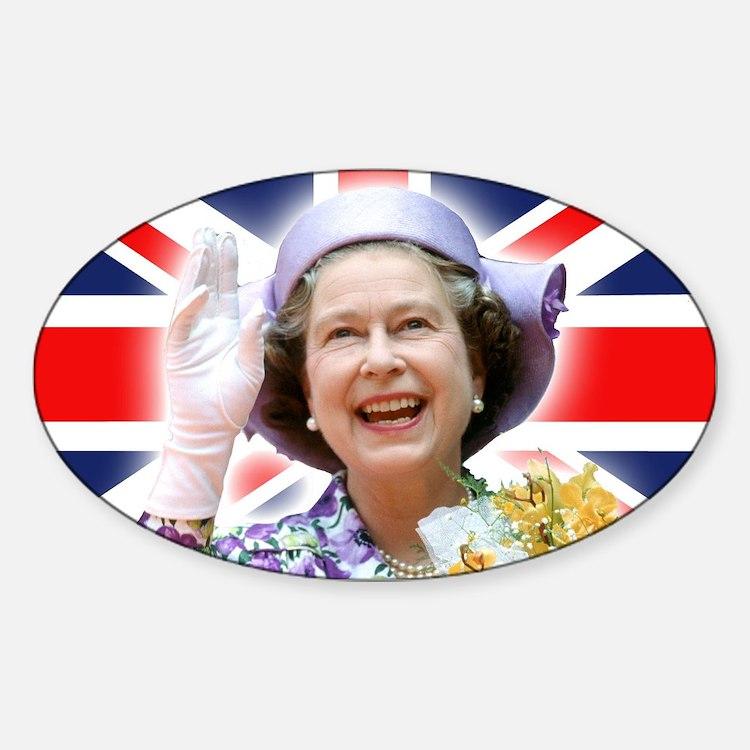 HM Queen Elizabeth II Decal