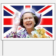 HM Queen Elizabeth II Yard Sign