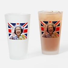 HM Queen Elizabeth II Drinking Glass