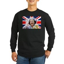 HM Queen Elizabeth II Long Sleeve T-Shirt