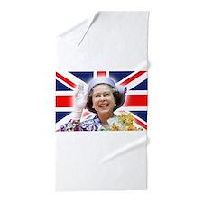 HM Queen Elizabeth II Beach Towel