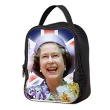 HM Queen Elizabeth II Neoprene Lunch Bag