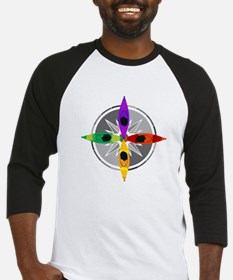compass_kayak Baseball Jersey