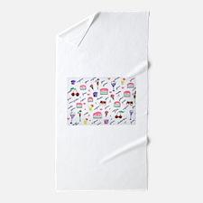 Unique Whipped cream Beach Towel