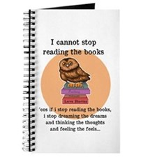 I can't stop reading the books Journal