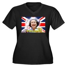 HM Queen Elizabeth II Plus Size T-Shirt