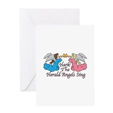Hark! The Herald Angels Sing Greeting Cards