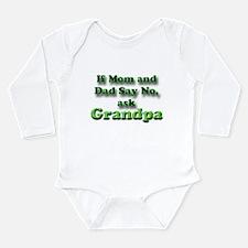 Cute Baby grandpa Long Sleeve Infant Bodysuit