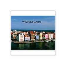 Willemstad Curacao Sticker