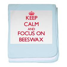 Cute Beeswax baby blanket