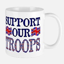 ...Support Our Troops U.K... Mug