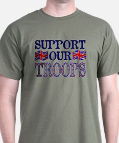 ...Support Our Troops U.K... T-Shirt