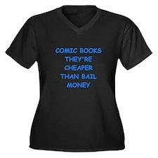 comic books Plus Size T-Shirt