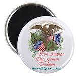 """Irish America / Fen Trad - 2.25"""" Magnet (100 pack)"""