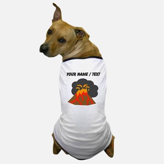 Custom Erupting Volcano Dog T-Shirt