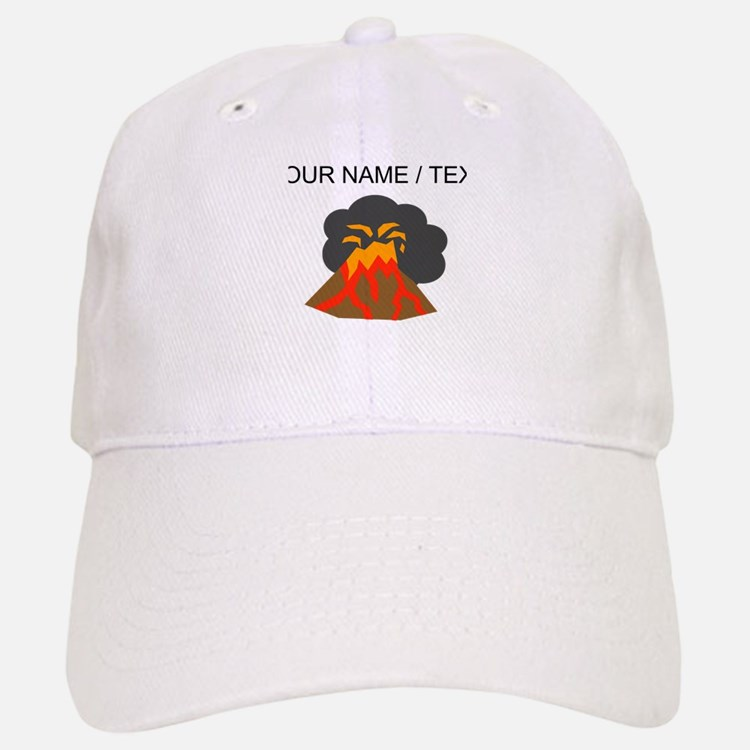 Custom Erupting Volcano Baseball Baseball Baseball Cap