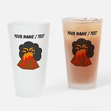 Custom Erupting Volcano Drinking Glass