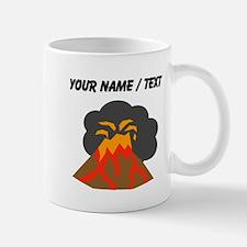 Custom Erupting Volcano Mugs
