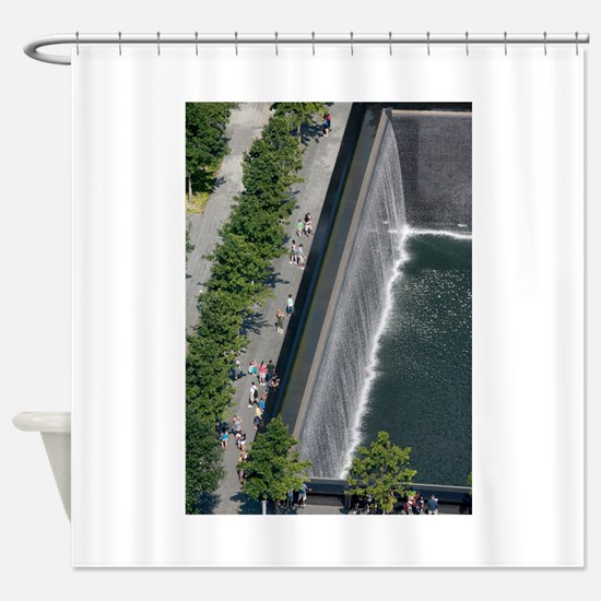 World Trade Center New York Shower Curtain