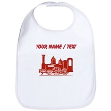 Custom Red Locomotive Bib
