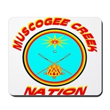 MUSCOGEE CREEK NATION Mousepad