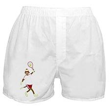 Sock Monkey Tennis Boxer Shorts