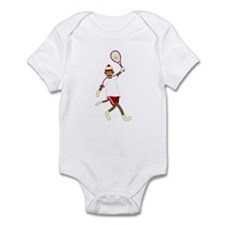 Sock Monkey Tennis Infant Bodysuit