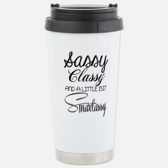 A little bit Smartassy Travel Mug