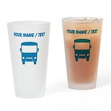 Custom Blue Motorhome Drinking Glass