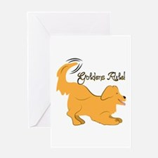 Goldens Rule! Greeting Cards