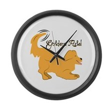 Goldens Rule! Large Wall Clock