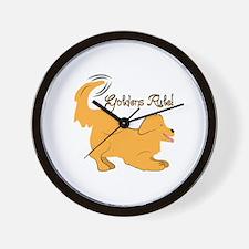 Goldens Rule! Wall Clock