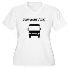 Custom Motorhome Plus Size T-Shirt