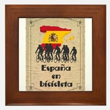 Bike Spain Framed Tile