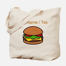 Custom Hamburger Tote Bag
