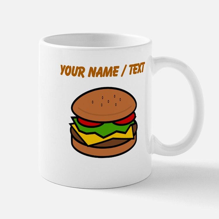 Custom Hamburger Mugs