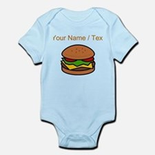 Custom Hamburger Body Suit