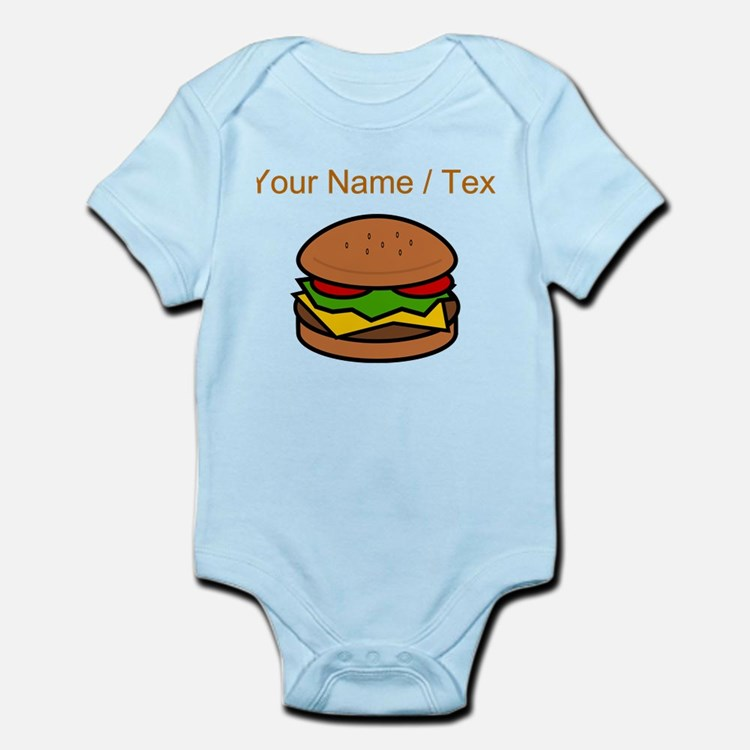 Custom Hamburger Body Suit