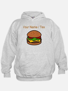 Custom Hamburger Hoodie