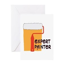 Expert Painter Greeting Cards