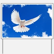 Purity Dove Yard Sign